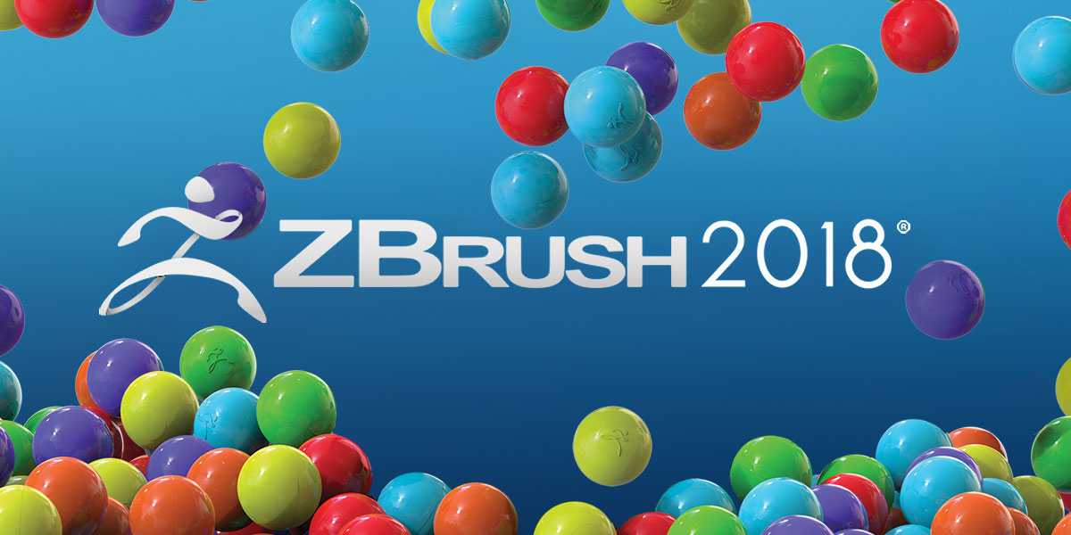 zbrush 2018 logo for 3D asset creation