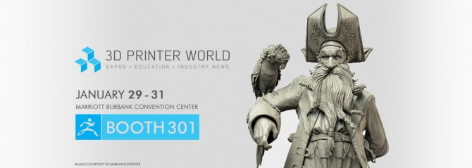 Join Pixologic at the 3D Printer World Expo 2015