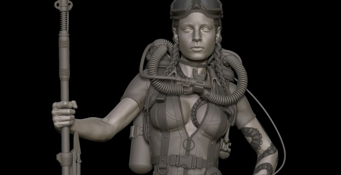 Whisper detail by William Harbottle on ZBrushCentral