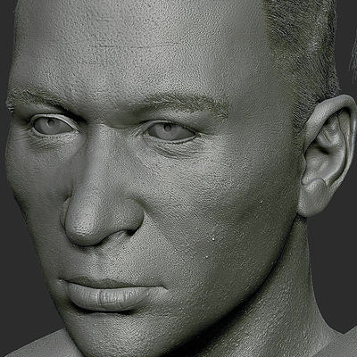 Reconstructing faces with ZBrush