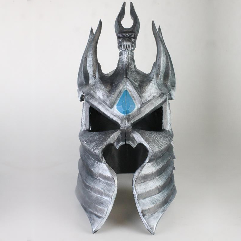 Artist 3D Prints Wearable Lich King Helmet