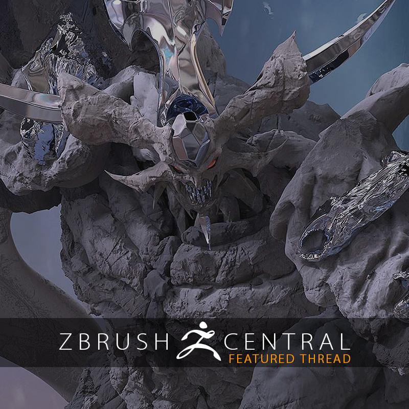 ZBrush Can Help Take 2D Art to New Heights... and Depths!