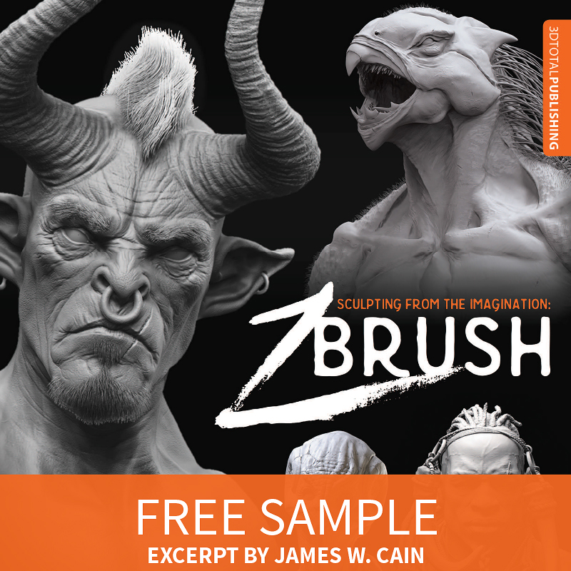 New ZBrush book: Sculpting from the Imagination