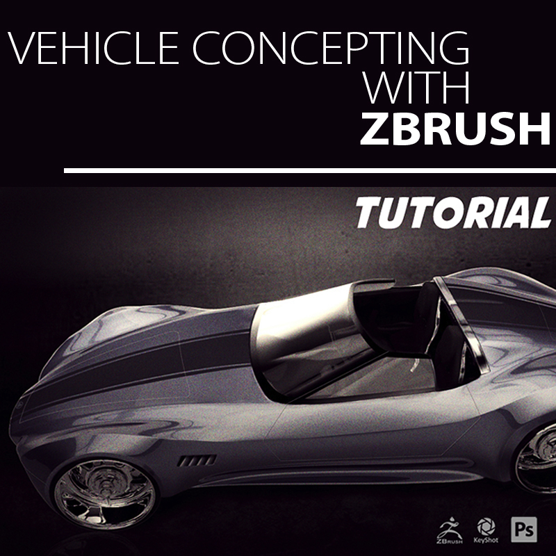 Learn How this Artist Designs Vehicle Concepts in ZBrush