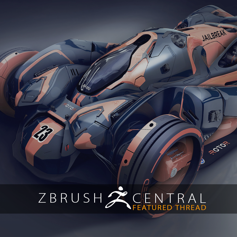 Quality Vehicle Design in ZBrush