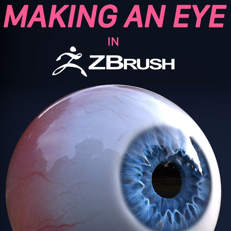 Free Guide to Making an Eye in ZBrush