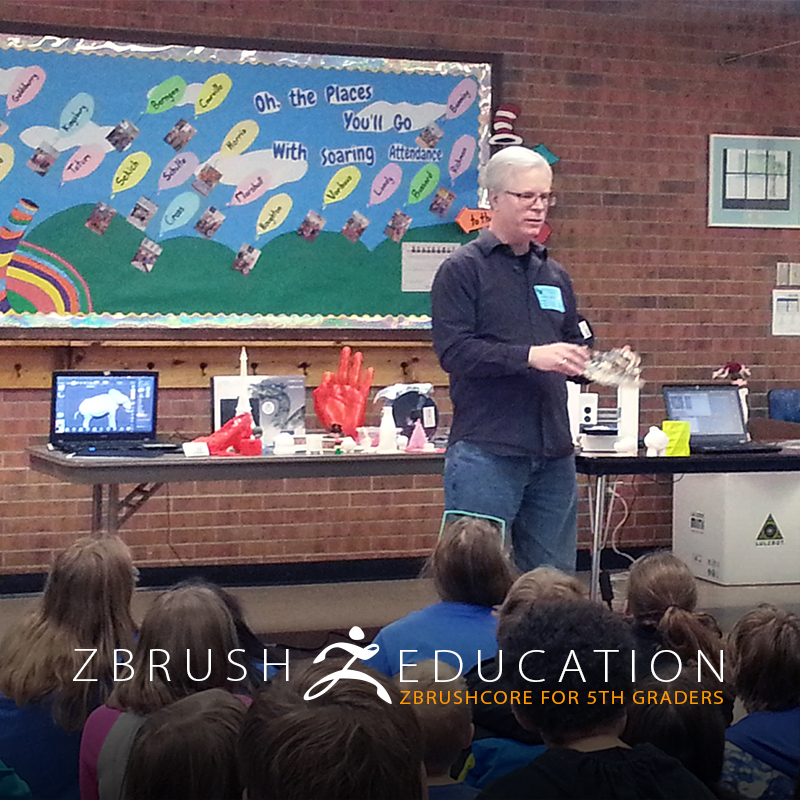 Sculptor Tim King Brings ZBrushCore to the Classroom