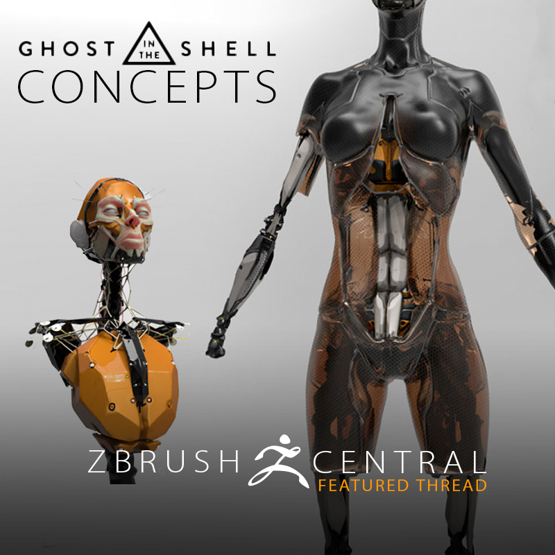 Early Design Concepts for Ghost in the Shell