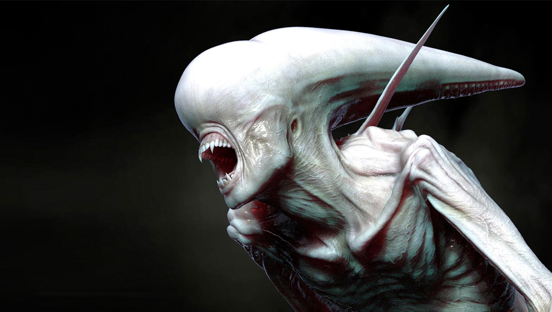 Pixologic: ZBrush Blog » Alien Covenant Concept Art Dump