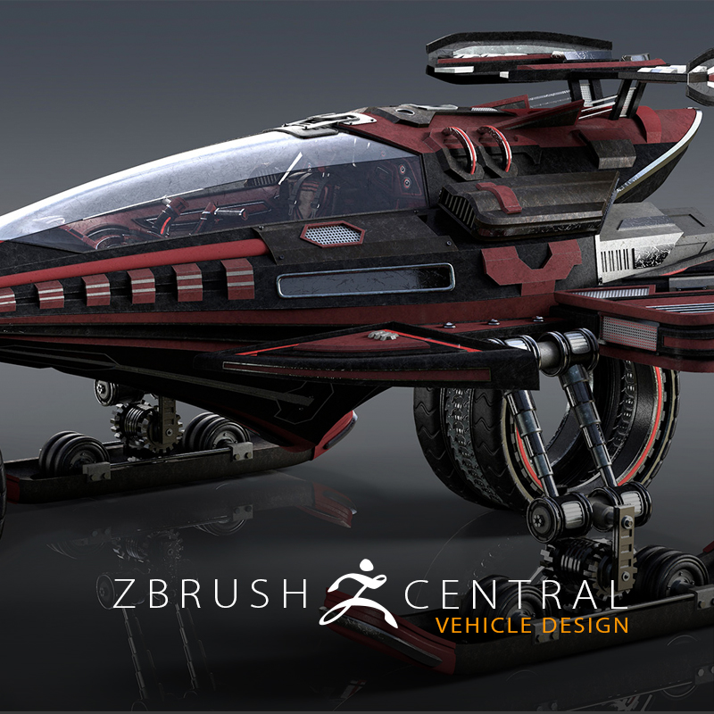Vehicle Concepts in ZBrush