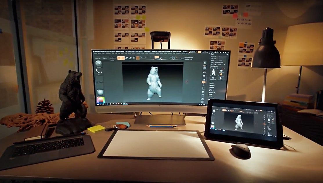 3d images on computer