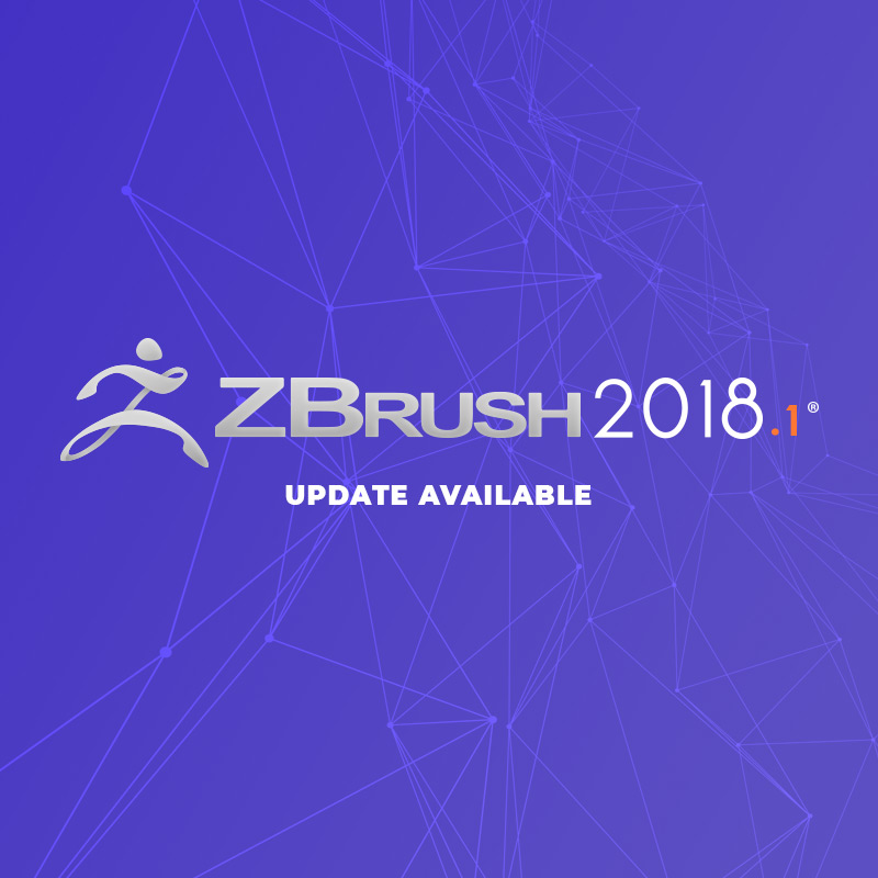 ZBrush 2018.1 is Now Available for Download