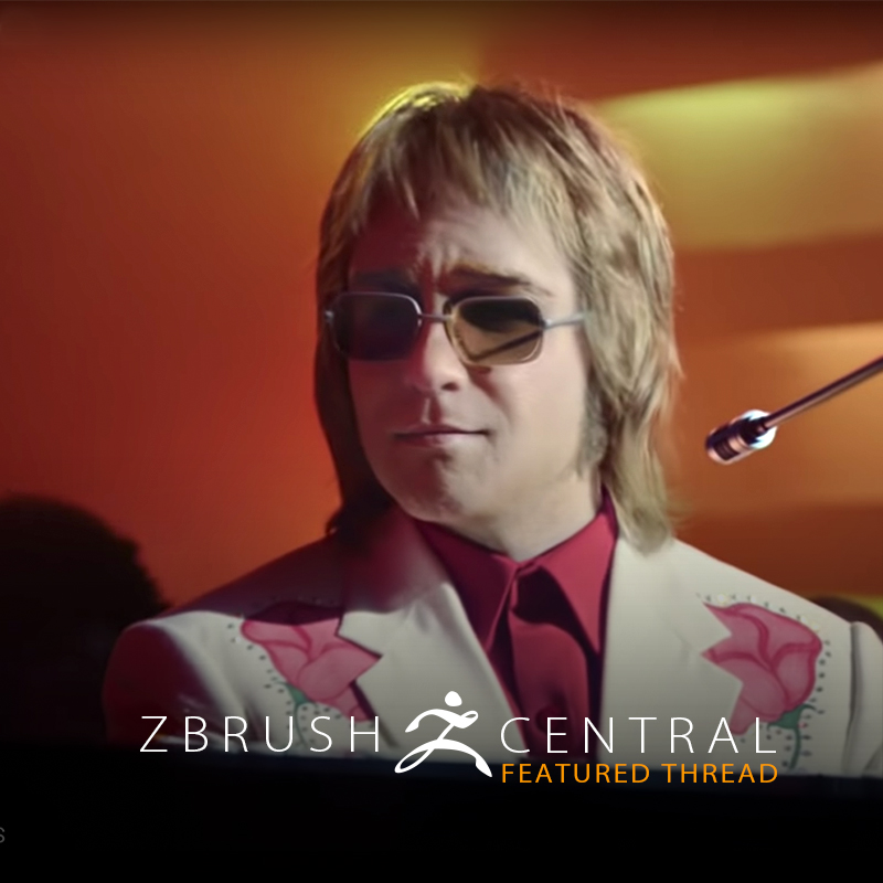 Amazing Elton John Digital Doubles in New TV Advert