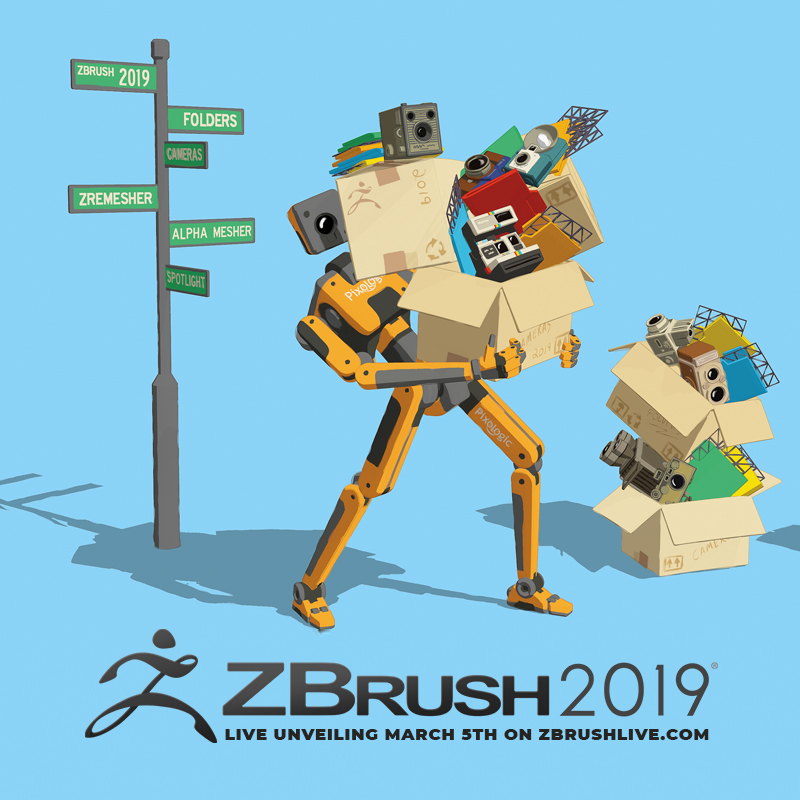 ZBrush 2019 World Premier March 5th