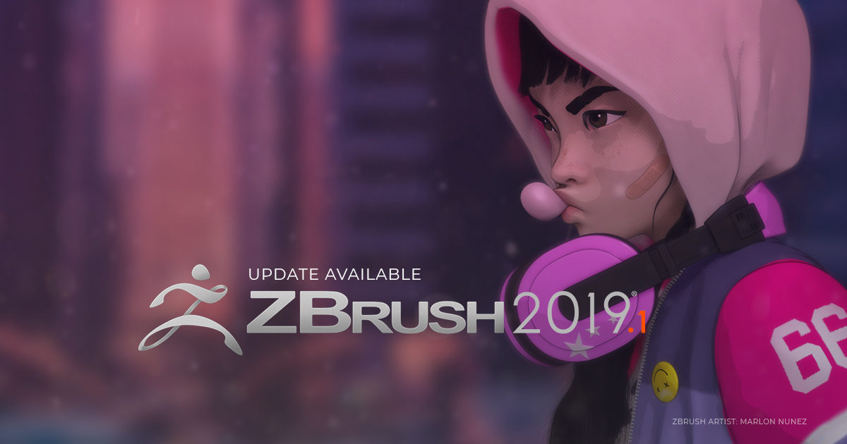ZBrush 2019 1 Now Available! – Pixologic : ZBrushLIVE