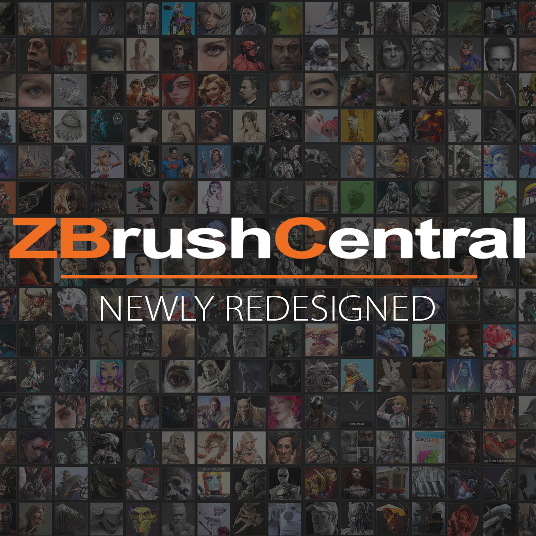 ZBrushCentral is Now Better than Ever!