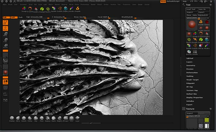 pixologic zbrush features