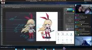 Layna Lazar – 3D Sculpting for Figurine Production Broadcast #3
