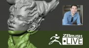 ZBrush 4R8 – Robert Vignone – Creating Characters for 3D Printing – Episode 6