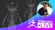 Pierre-Olivier Lévesque – Sci-Fi Characters in ZBrush – Episode 11