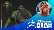 (Part 6) Donatello from Teenage Mutant Ninja Turtles Fan Art – Timothy Rapp – Episode 52