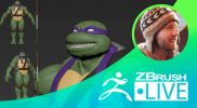 Donatello from Teenage Mutant Ninja Turtles Fan Art – Timothy Rapp – Episode 51