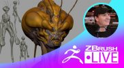 "Creature Sculpting & Exploration of Forms – Brett Briley ""Spark"" – Episode 15"