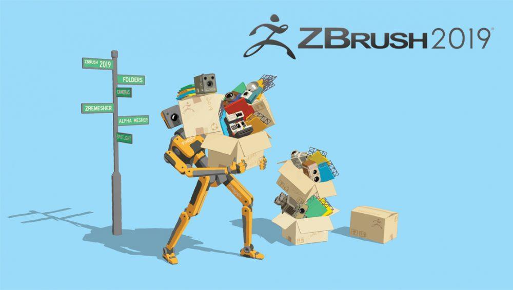 ZBrush 2019 World Premier March 5th – Pixologic : ZBrushLIVE
