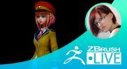 Создание стилизованных персонажей – Olya Anufrieva – Episode 2