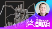 ZFriends: Pass the Sculpt – Stephen Anderson – Episode 1