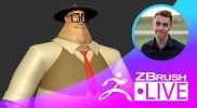 "Stylized Character Sculpting – Ben De Angelis ""Follygon"" – Episode 29"