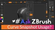 "#AskZBrush – ""What is the Curve function Snapshot used for?"""