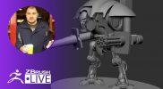 Creating Minigun Turrets – Brendon Isaiah Bengtson – Episode 57