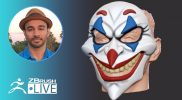 3D Printing in ZBrush: Joker Mask – Aiman Akhtar – Episode 49