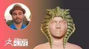3D Printing in ZBrush: Ideas to Reality – Aiman Akhtar – Episode 50