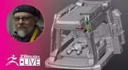 Blade Runner Spinner Fan Art – Kermaco: Mech Design – Ara Kermanikian – Season 2 Episode 10