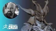 Creating on the Fly with ZBrush! – Miguel Guerrero – Episode 8