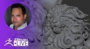 Using ZBrush to Sculpt Mufasa Clouds From The Lion King – Daniel Enrique De León – ZBrush 2020