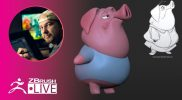 3D Model a Stylized Pig Character With Me ! – Shane Olson – Part 1