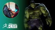 The Incredible Hulk Model for 3D Printing Preparations – Mike Thompson – Part 1