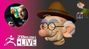 Let's Do a ZBrush Blockout of an Old Man Character ! – Shane Olson – ZBrush 2020