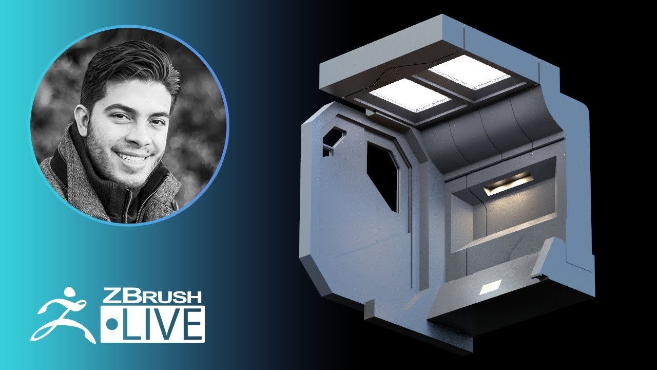 ZBrush Guides: 3D Modeling a Sci-Fi Environment – Pablo Muñoz Gómez – Part 3