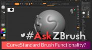 "#AskZBrush – ""How can I make other brushes function like CurveStandard and CurvePinch?"""