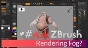 "#AskZBrush – ""How can I render Fog in ZBrush?"""