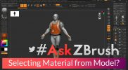 "#AskZBrush – ""Is there a way to know what Material is applied to a SubTool?"""
