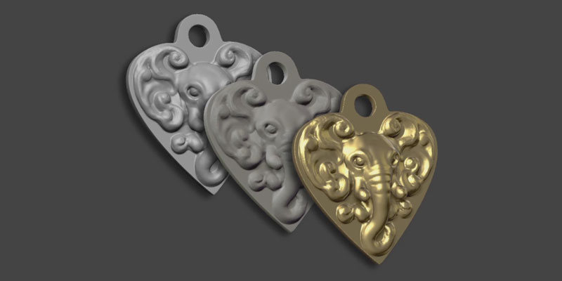 A Key Chain for 3D Printing