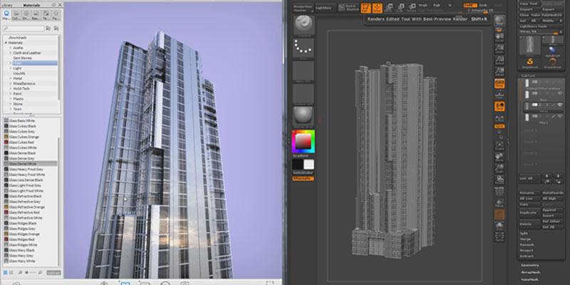 Attractive Digital Sculpting U0026 Modeling U003e Architectural Design U003e ...