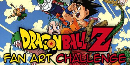 Dragon Ball Z Fan Art Challenge