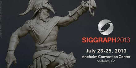 Pixologic Hits The Floor At Siggraph 2013