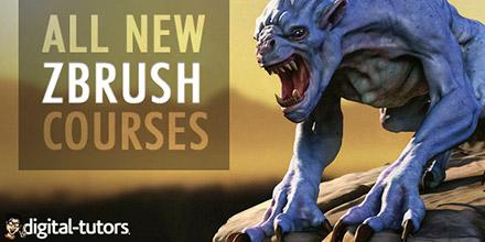 New Courses by Digital-Tutors!